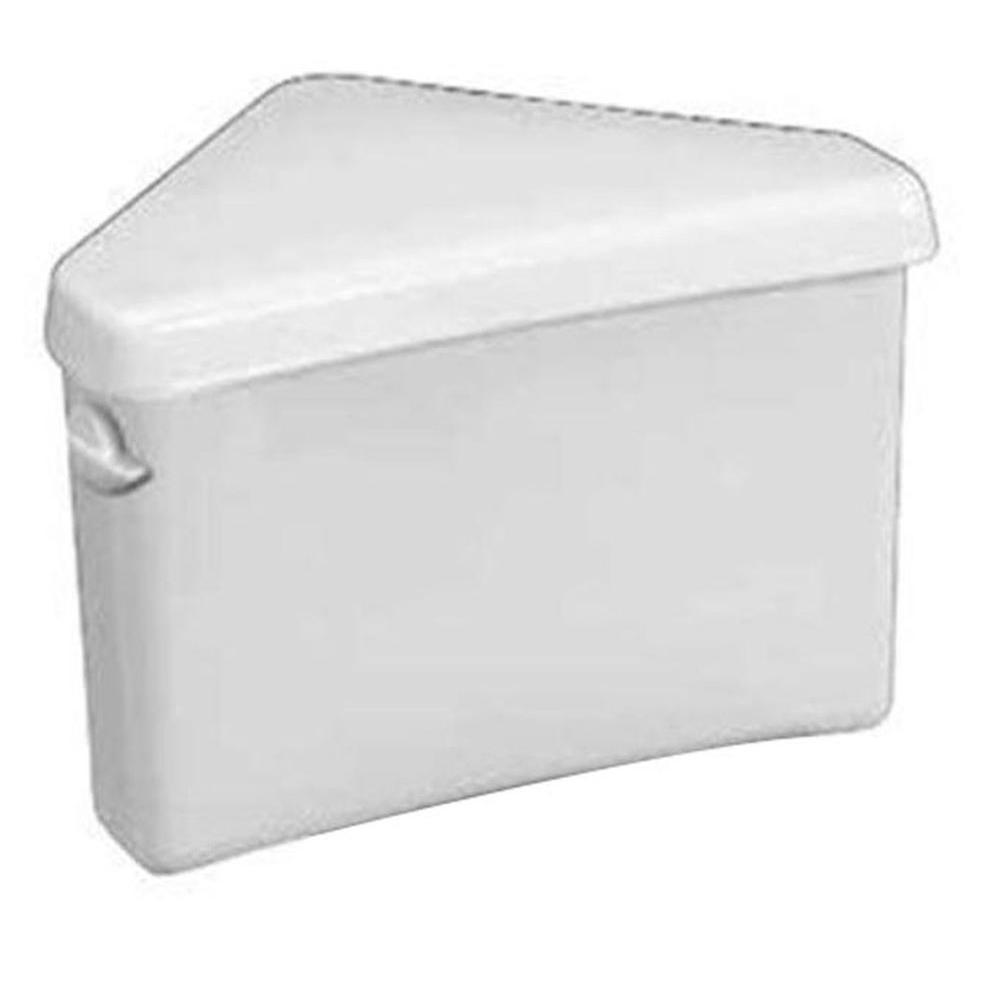 Triangle Cadet 3 1.6 GPF Single Flush Toilet Tank Only in White