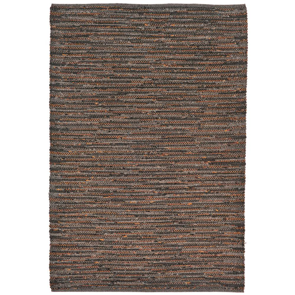 Mali Furrow Brown 5 ft. x 7 ft. 6 in. Rectangle