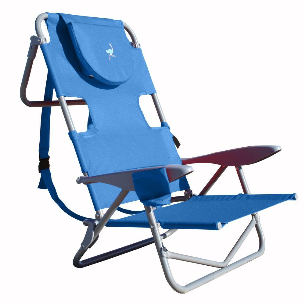 Attrayant Ostrich On Your Back Patio Chair