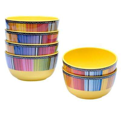 Serape Ice Cream and Cereal Bowl (Set of 6)