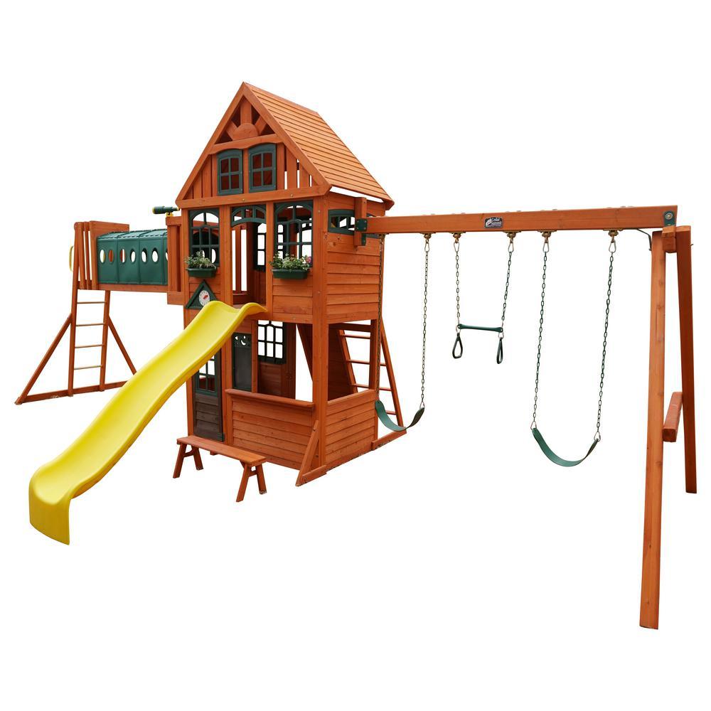 Huntington Resort Wooden Playset