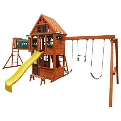 Huntington Resort Wooden Playset