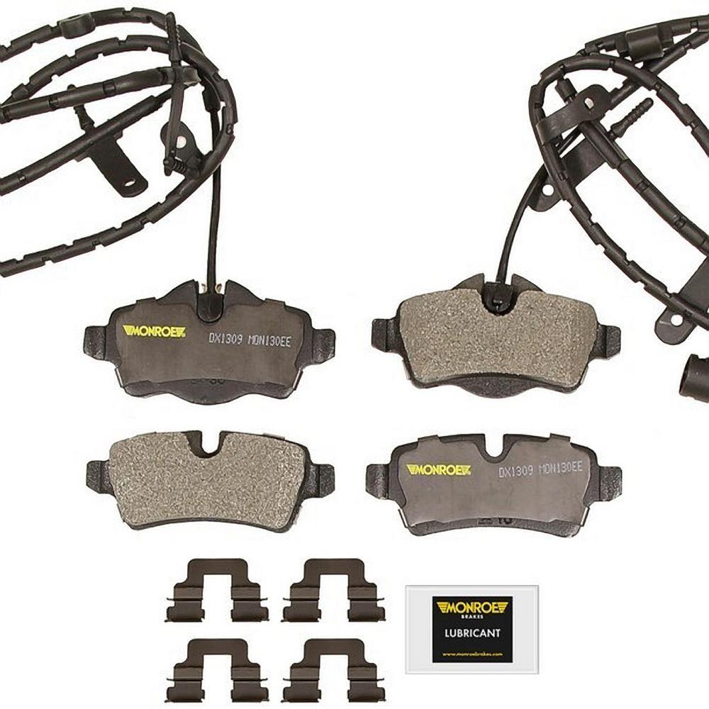 MINI COOPER 2007 2008 2009 2010 2011 2012 2013 BRAKE PADS FRONT Semi-Metallic