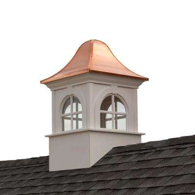 Smithsonian Washington 48 in. x 79 in. Vinyl Cupola with Copper Roof