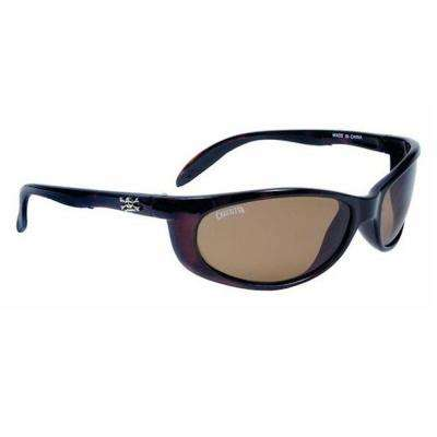 Tortoise Frame Smoker Sunglasses with Amber Lens