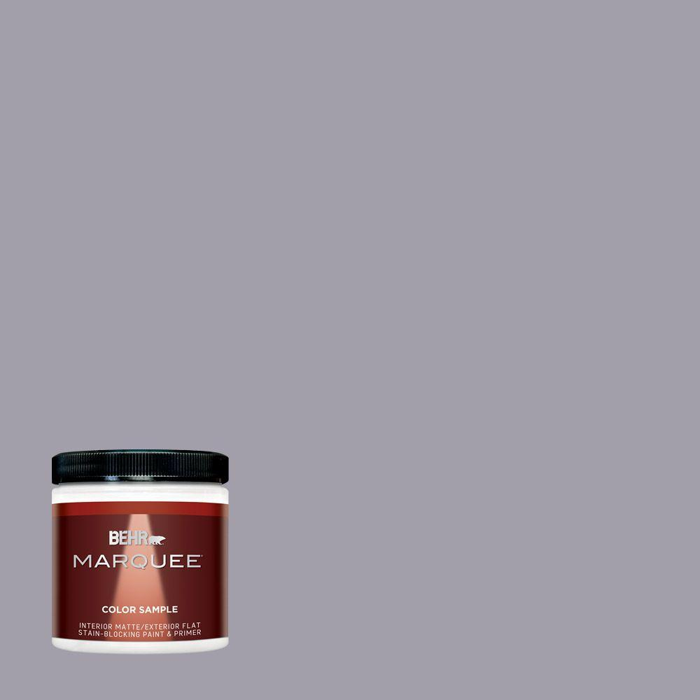 BEHR MARQUEE 8 oz. #N550-4 Ashberry One-Coat Hide Interior/Exterior Flat/Matte Paint Sample