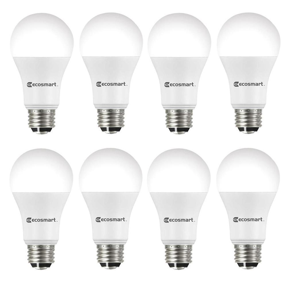 40/60/100-Watt Equivalent A19 ENERGY STAR 3-Way LED Light Bulb Daylight (8-Pack)