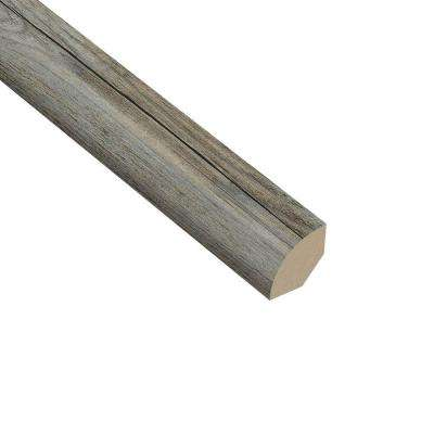 Pine Winterwood 5/8 in. Thick x 1 in. Wide x 94-1/2 in. Length Vinyl Quarter Round Molding