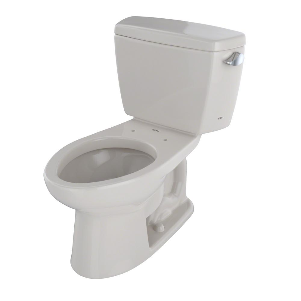 Astounding Toto Drake Ada Compliant 2 Piece 1 6 Gpf Single Flush Elongated Toilet With Right Hand Trip Lever In Sedona Beige Andrewgaddart Wooden Chair Designs For Living Room Andrewgaddartcom