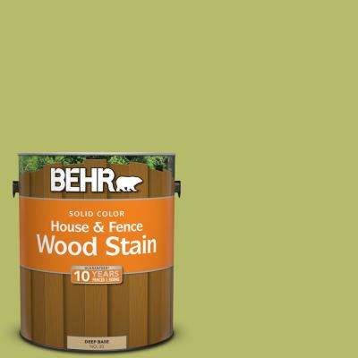 1 gal. #P360-5 Citrus Peel Solid Color House and Fence Exterior Wood Stain