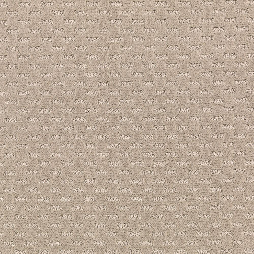 Quiet Reflection - Color Desert Villa Pattern 12 ft. Carpet