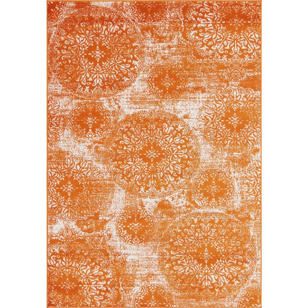 Unique Loom Sofia Grand Orange 6 0 X 9 0 Area Rug