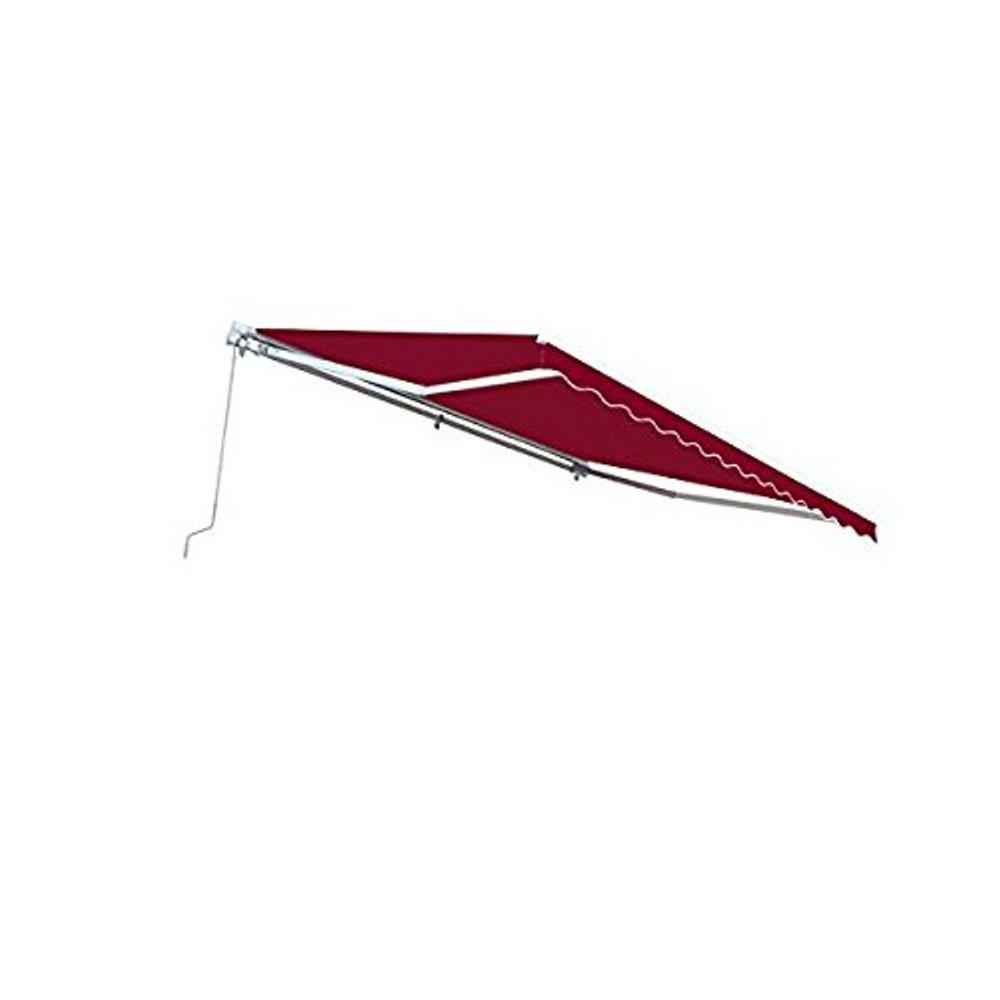 ALEKO 13 ft. Manual Patio Retractable Awning (120 in ...