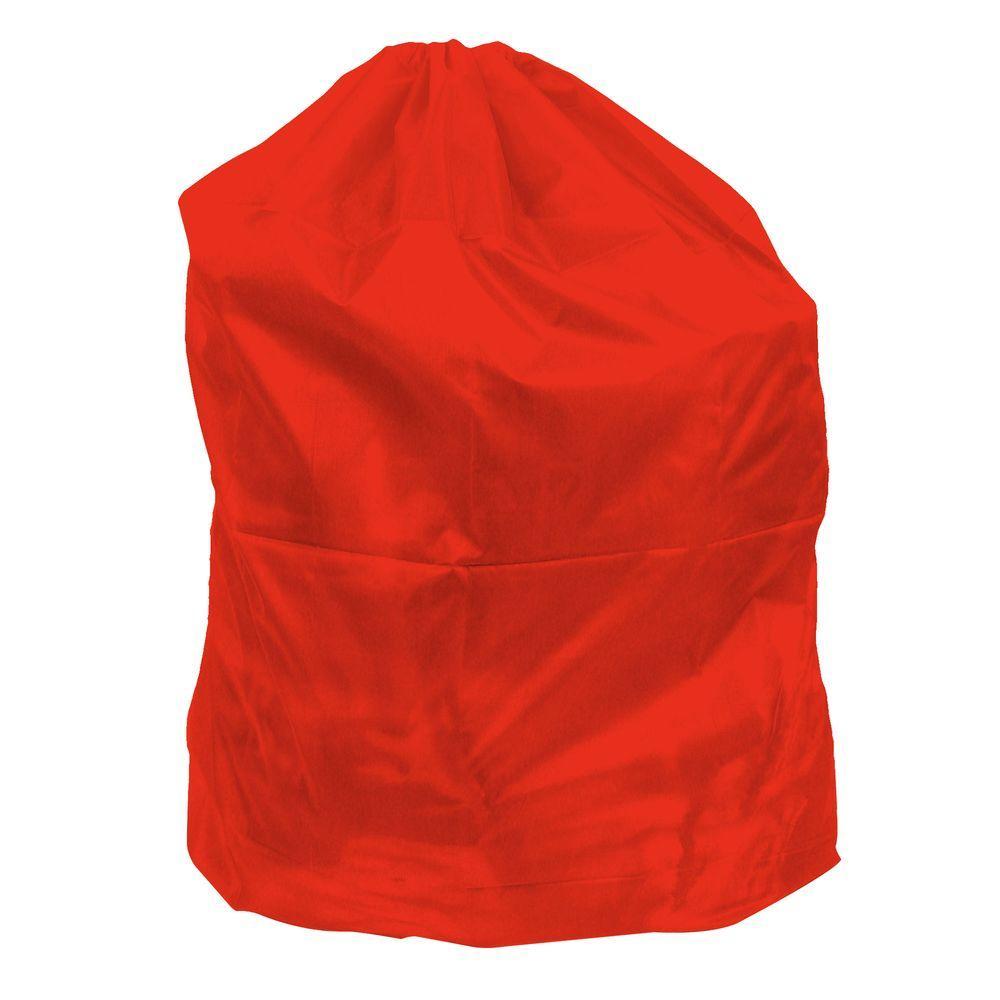 Lavish Home Jumbo Sized Nylon Laundry Bag In Red