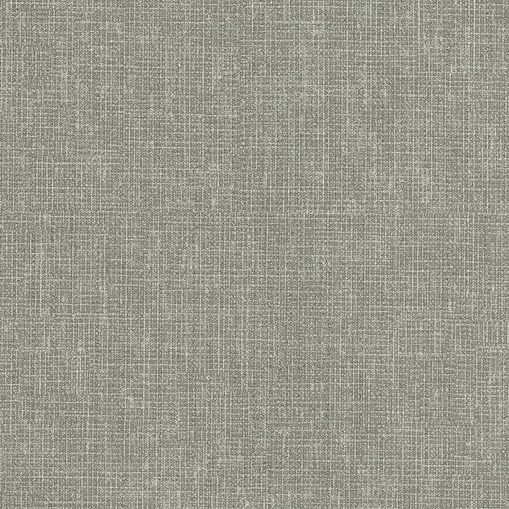 Favorite 8 in. x 10 in. Gabardine Grey Linen Texture Wallpaper Sample-2758  YR72