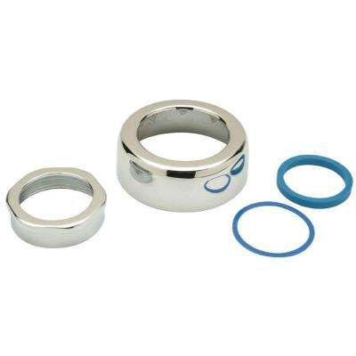 1-1/2 in. Spud Escutcheon and Coupling Assembly for Flush Valve
