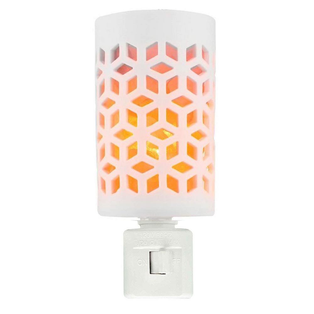 Globe Electric White Automatic Led Designer Night Light 8969701