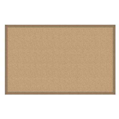 Athena Cork and Beige 3 ft. x 8 ft. Runner