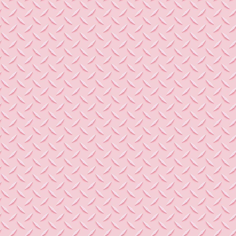 The Wallpaper Company 56 sq. ft. Pink Pastel Urfa Mini Print Wallpaper
