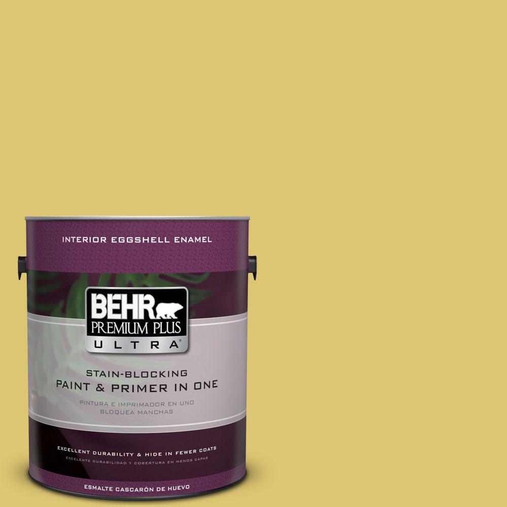 BEHR Premium Plus Ultra 1-gal. #P330-5 Midori Eggshell Enamel Interior Paint