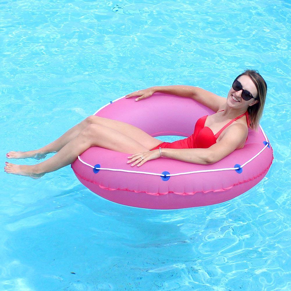 Pink 48 in. Pool Tube