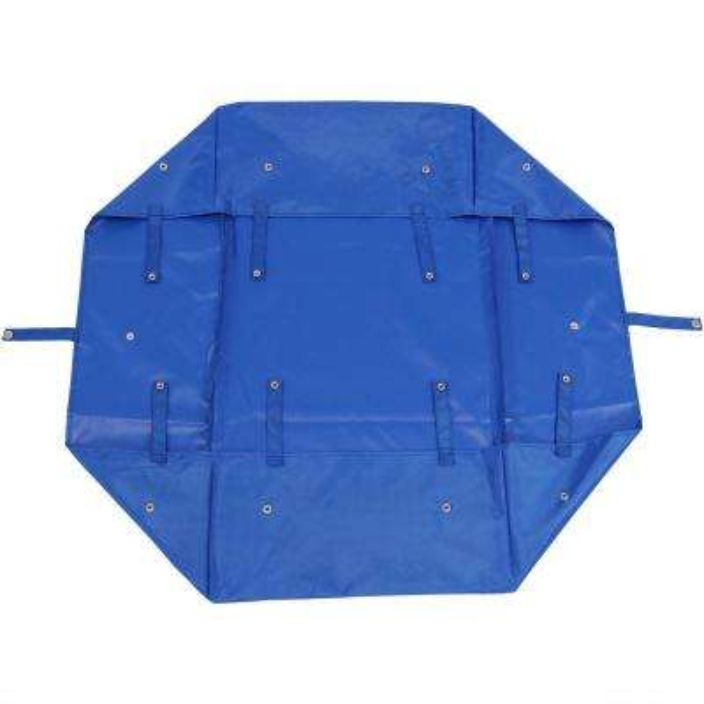 Blue Heavy-Duty Vinyl Utility Garden Cart Liner