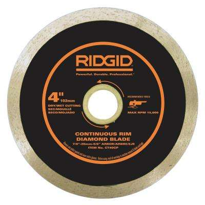 4 in. Continuous Diamond Blade
