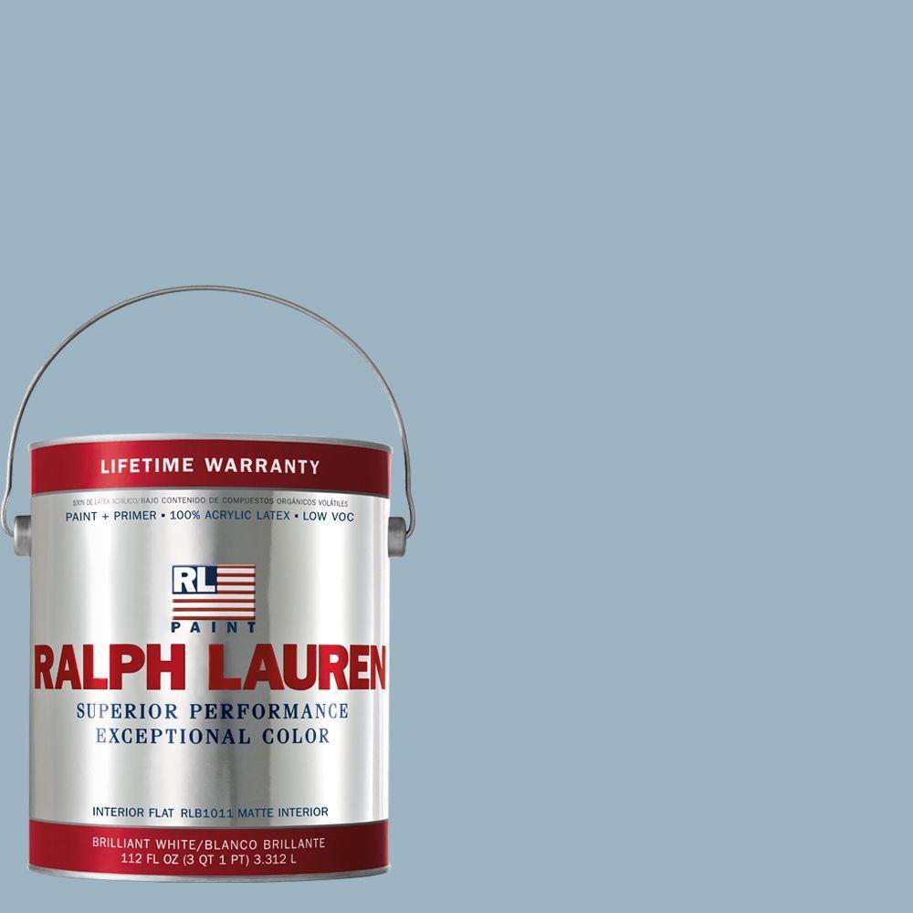 Ralph Lauren 1-gal. Andover Blue Flat Interior Paint