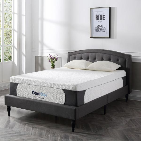 Cool Gel Ultimate Cal King Size 14 in. Gel Memory Foam Mattress