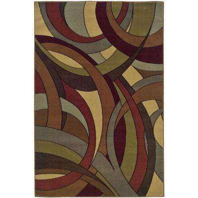 Camille Adrienne Multi 5 ft. x 7 ft. 6 in. Area Rug