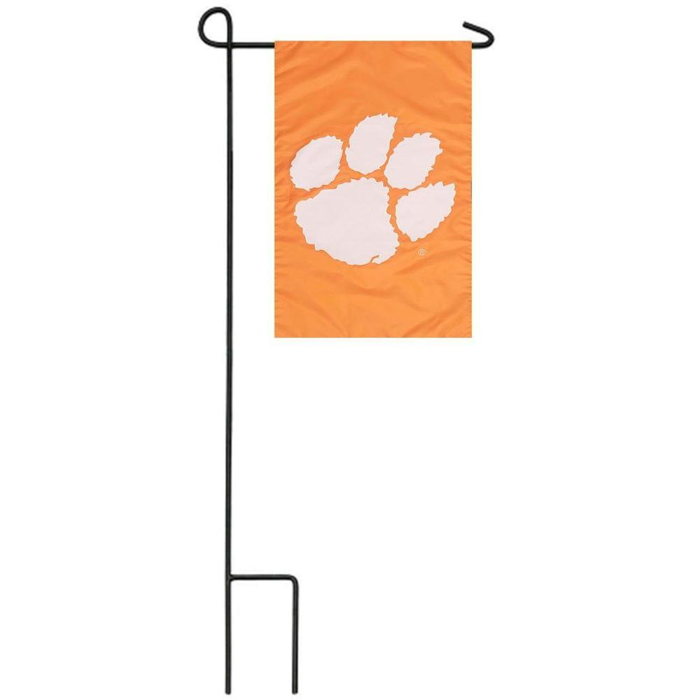Evergreen Enterprises 12.5 in. x 18 in. Clemson University Flag Set