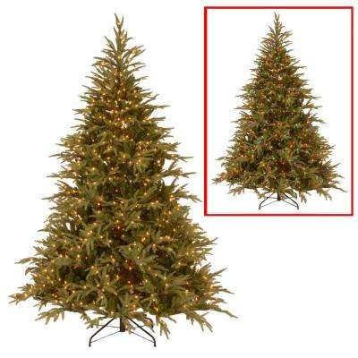 7.5 ft. Frasier Grande Artificial Christmas Tree with Dual Color LED Lights