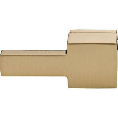 Vero Universal Toilet Handle in Champagne Bronze