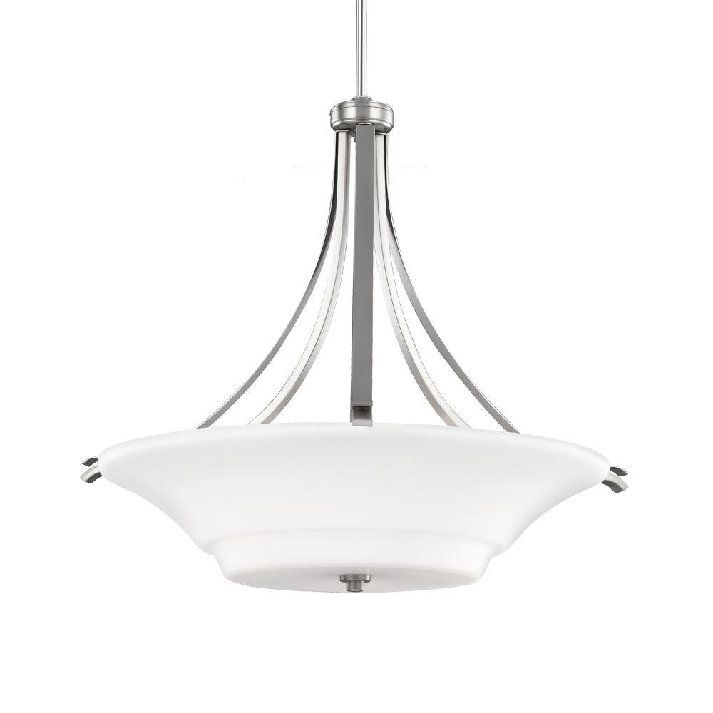 Summerdale 3-Light Satin Nickel Pendant