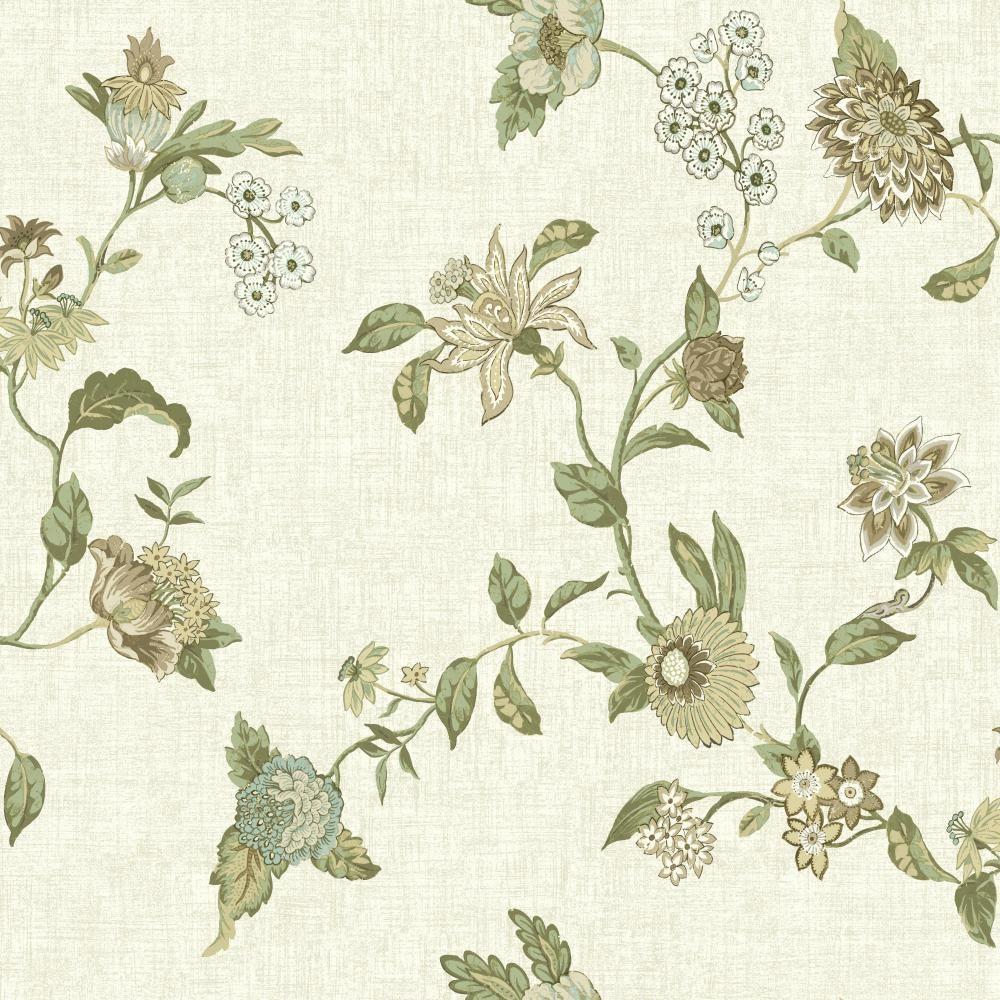 Global Chic Graceful Garden Trail Wallpaper