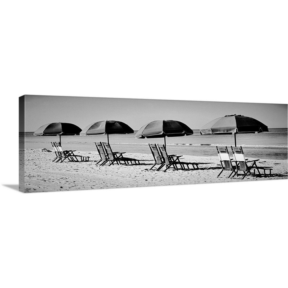 """""""Beach Reunion"""" by Gail Peck Canvas Wall Art"""