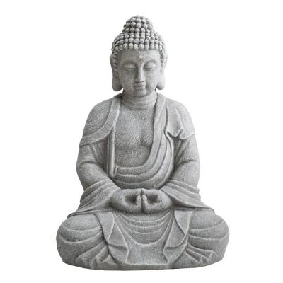 Shannon Gray Decorative Buddha Garden Decor Statue