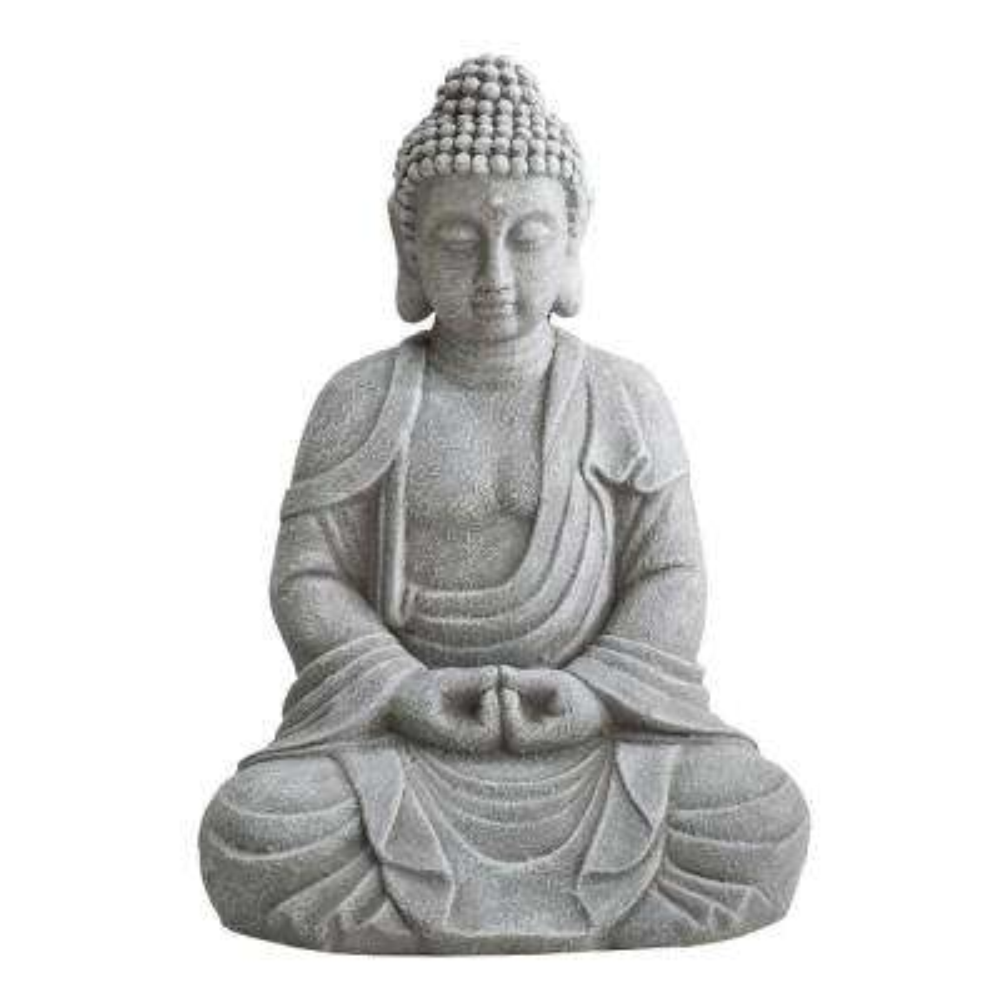 Shannon Gray Decorative Buddha Garden Decor Statue