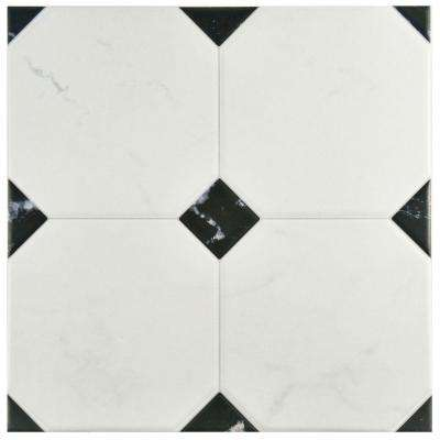 Betera Jet Blanco 13-1/8 in. x 13-1/8 in. Ceramic Floor and Wall Tile (10.76 sq. ft. / case)