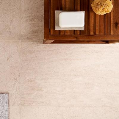 Reno Moca 16 in. x 24 in. Satin Marble Floor and Wall Tile (7.75 sq. ft. / Case)