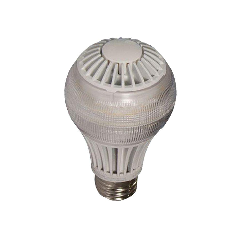 EcoSmart A19 8-Watt (40W) Daylight  LED Light Bulb (4-Pack)