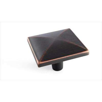 Extensity 1-1/2 in (38 mm) Length Oil-Rubbed Bronze Cabinet Knob