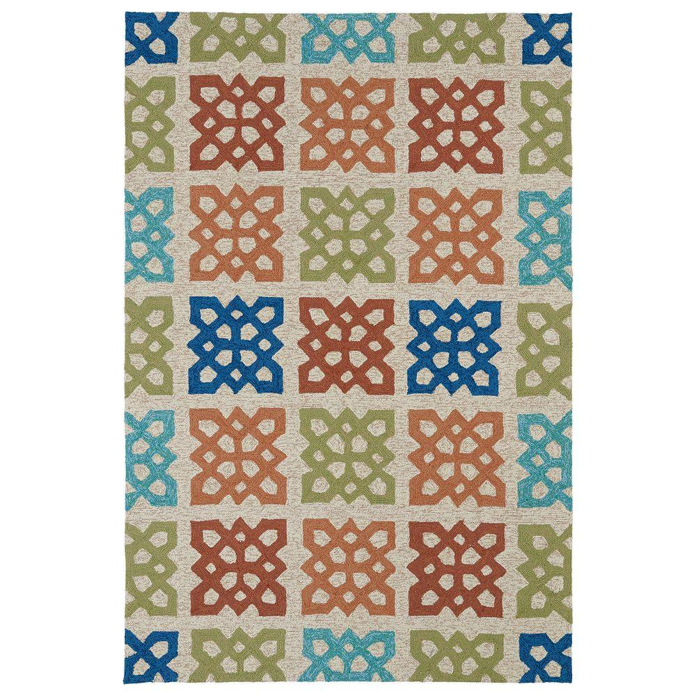 Kaleen Home and Porch Sand 2 ft. x 3 ft. Indoor/Outdoor Area Rug