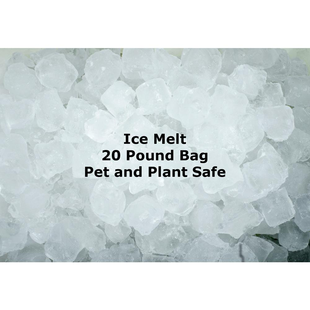 20 lbs. Pet Friendly Ice Melt Bag