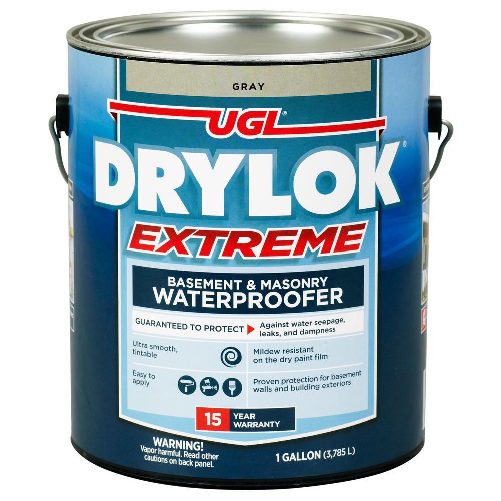 Extreme 1 gal. Gray Masonry Waterproofer