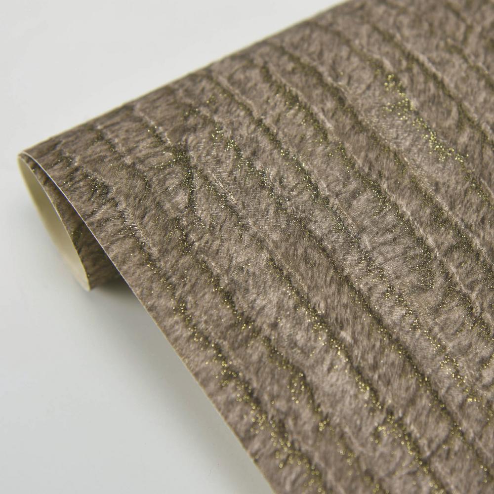 Jett Down Brown Stripe Vinyl Peelable Wallpaper Roll Covers 57 8 Sq Ft Br2871 88726 The Home Depot
