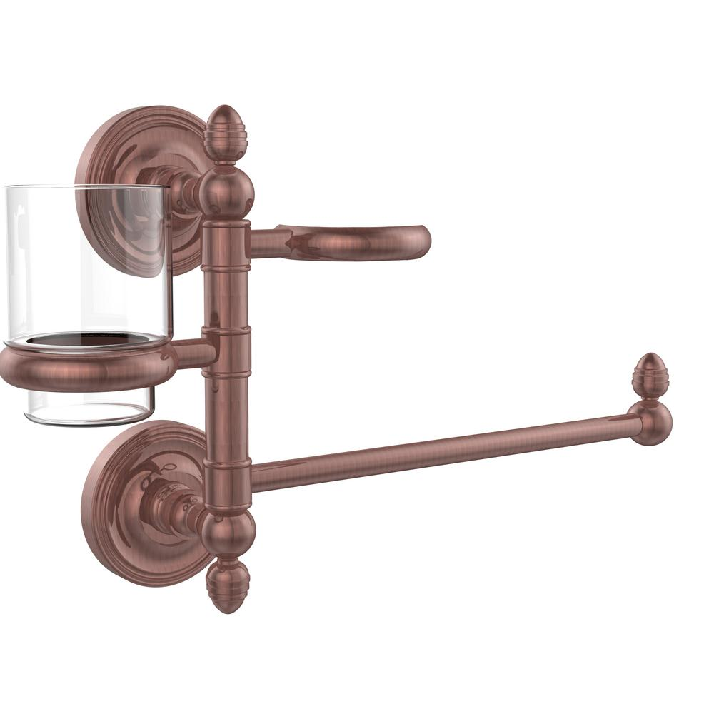Prestige Regal Collection Hair Dryer Holder and Organizer in Antique Copper