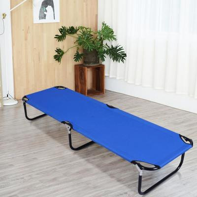 6.17 ft. Metal Hammock Stand in Blue