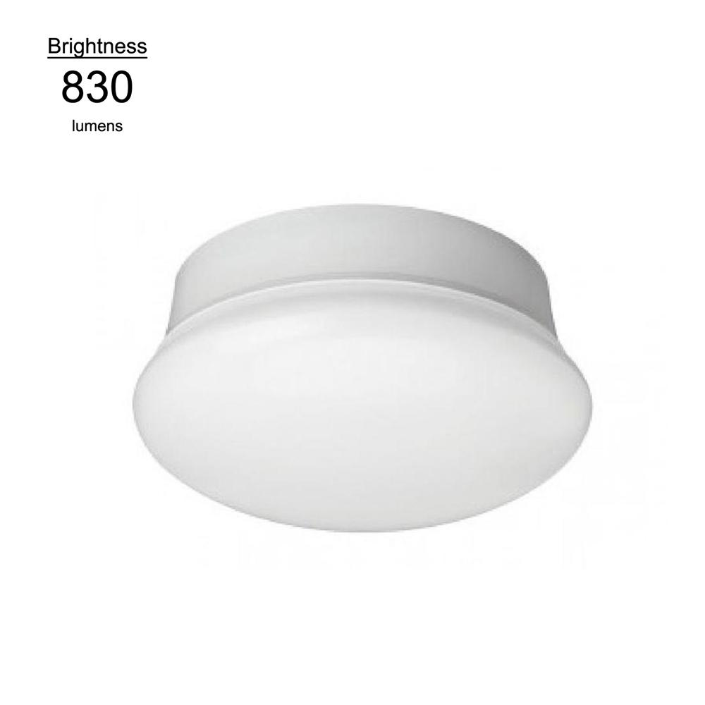 Commercial Electric 7 in. Daylight White LED Flushmount Ceiling Light Lampholder Replacement Fixture