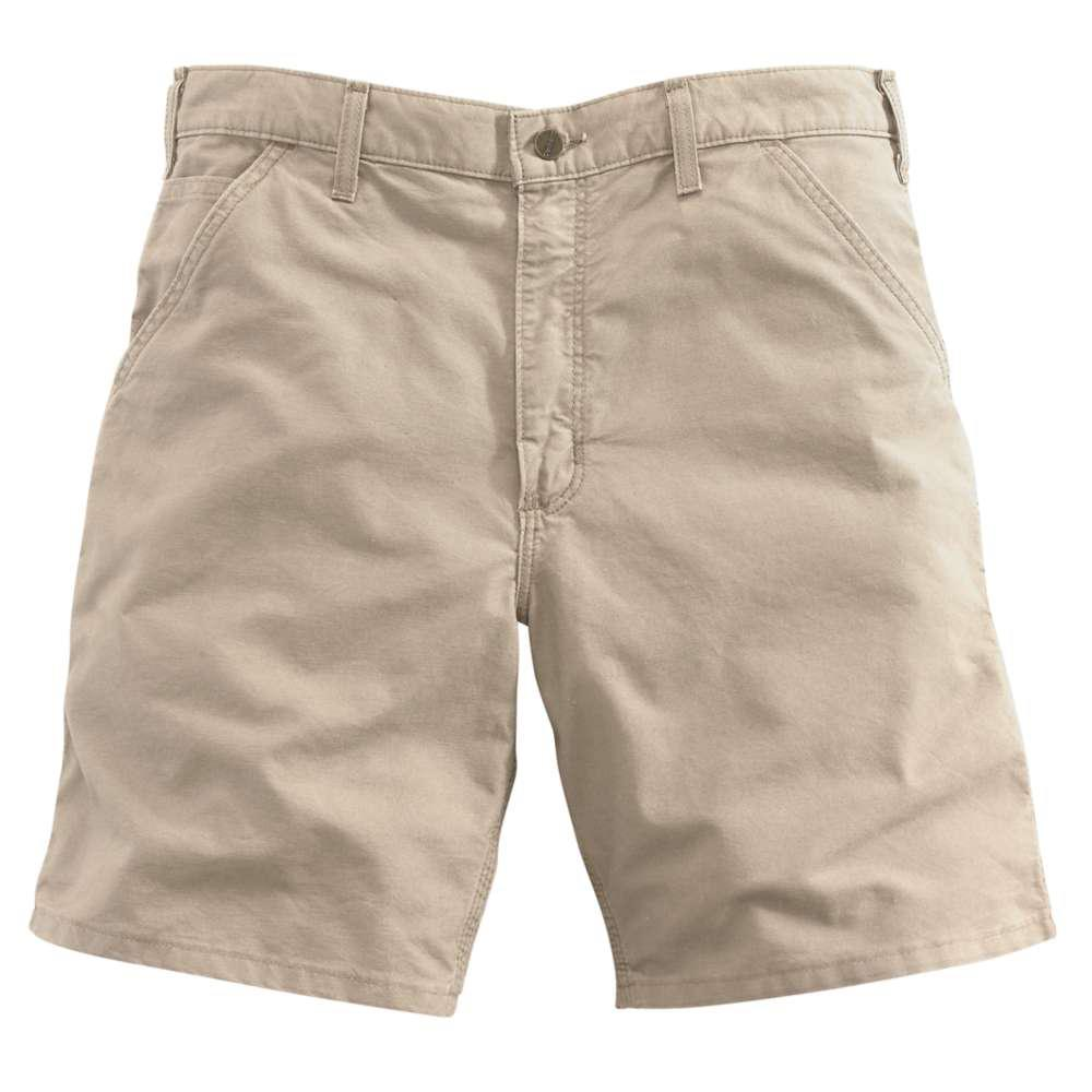 Men's Regular 31 Tan Cotton Shorts
